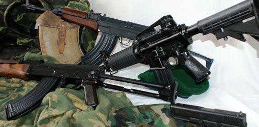 Zážitek střílení - Armádní zbraně