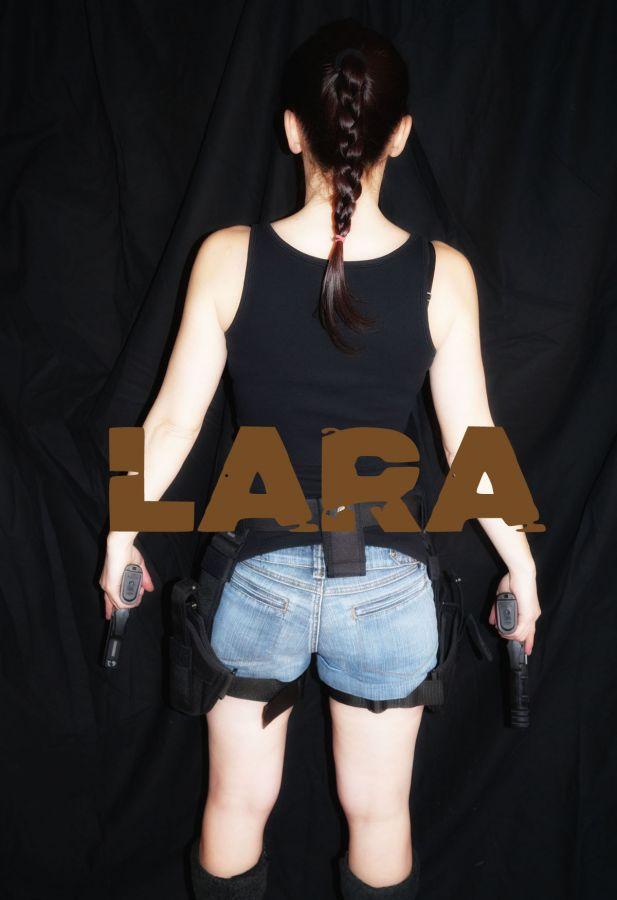 Lara Croft - filmové zbraně, střílení zážitek, akční střelba