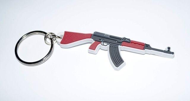 Přívěšek na klíče SA58 - dárkový doplněk k zážitku střílení