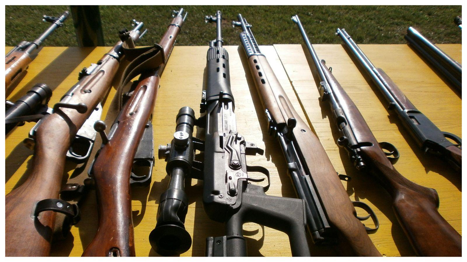 Zbraně Elitních jednotek STANDART-střílení zážitek, akční střelba