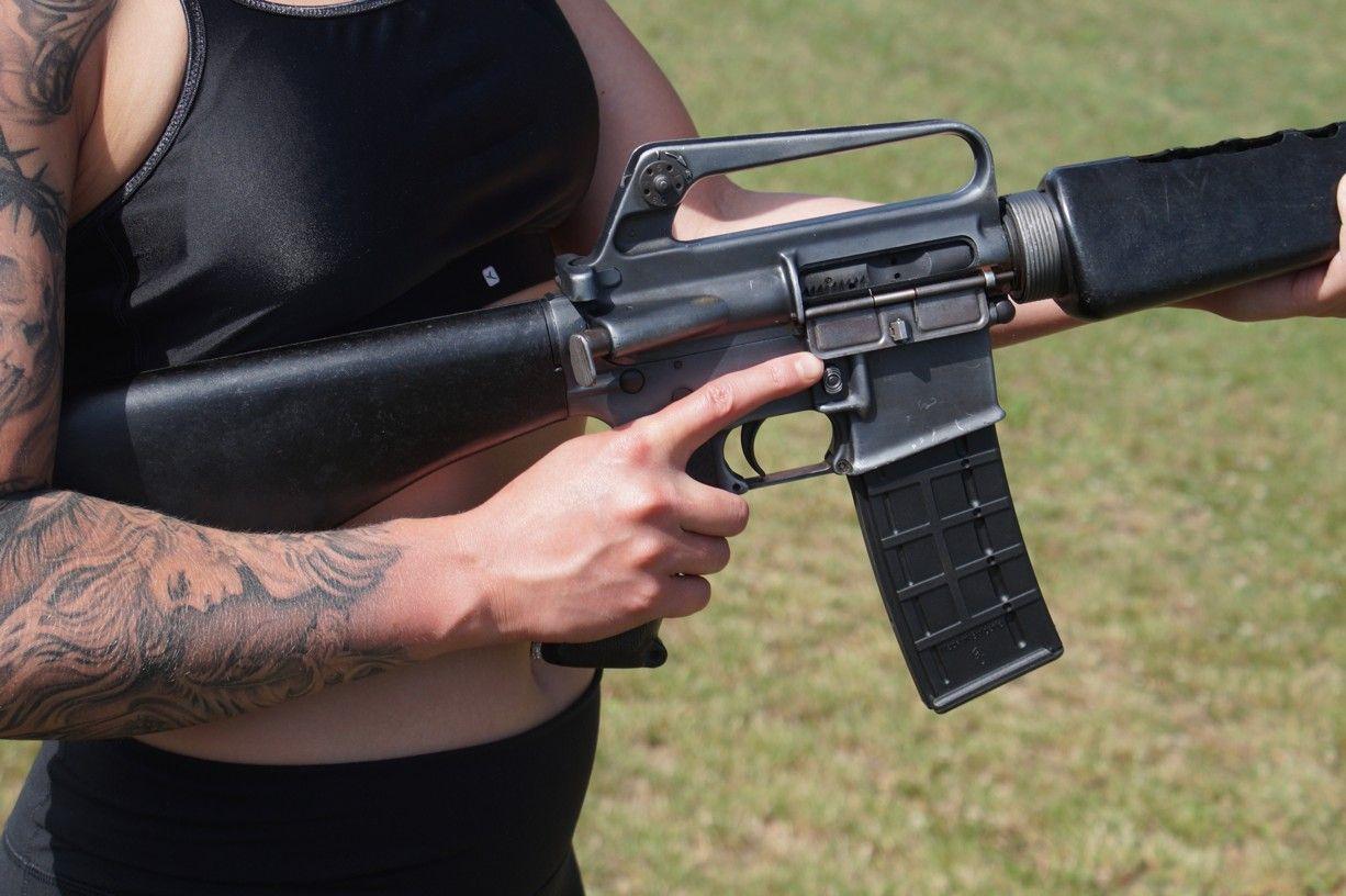 Zbraně elitních jednotek Full Akční střelba