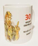 """Hrnek k výročí """"Chuck Norris"""""""