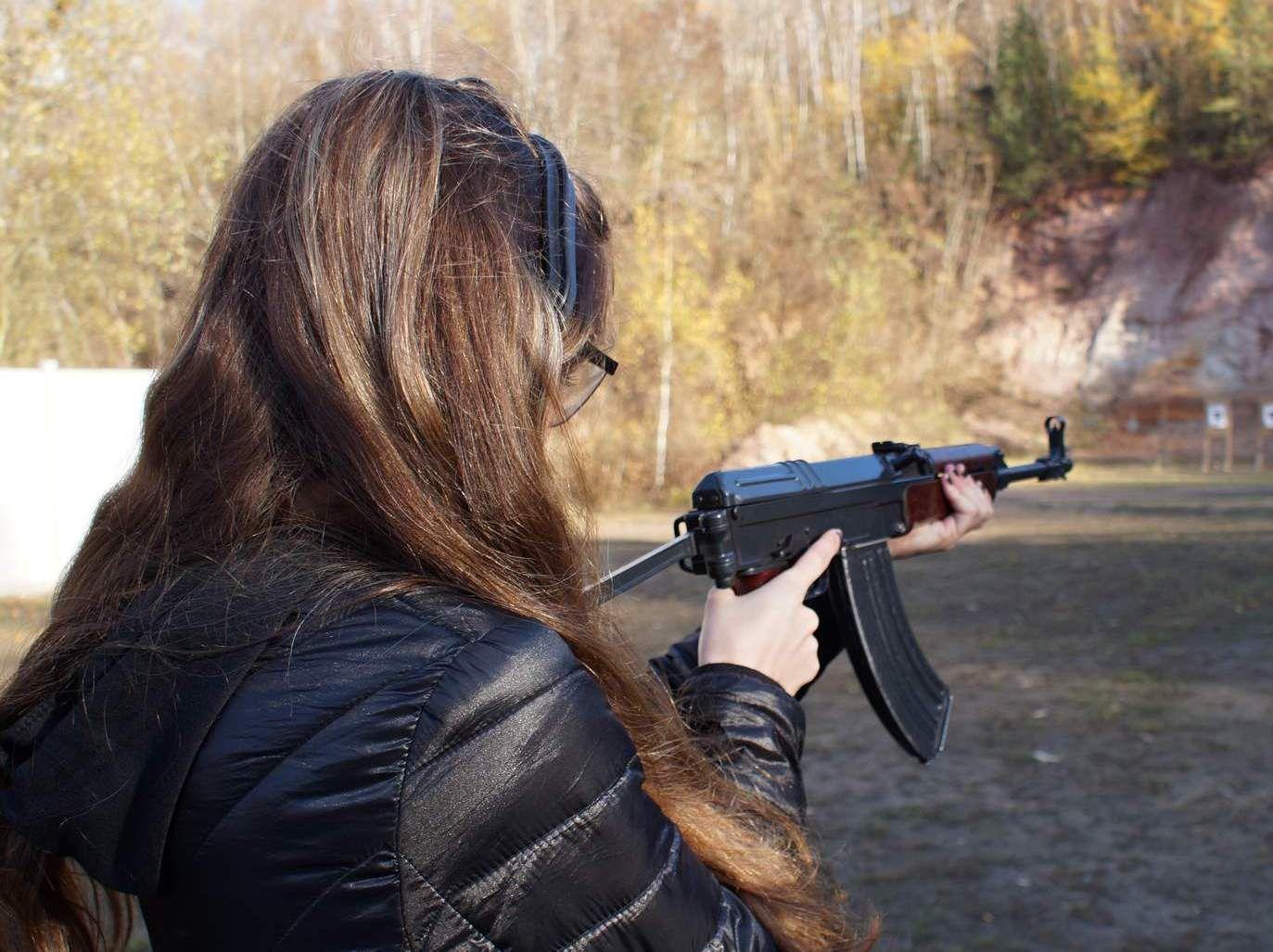 střílení zážitek