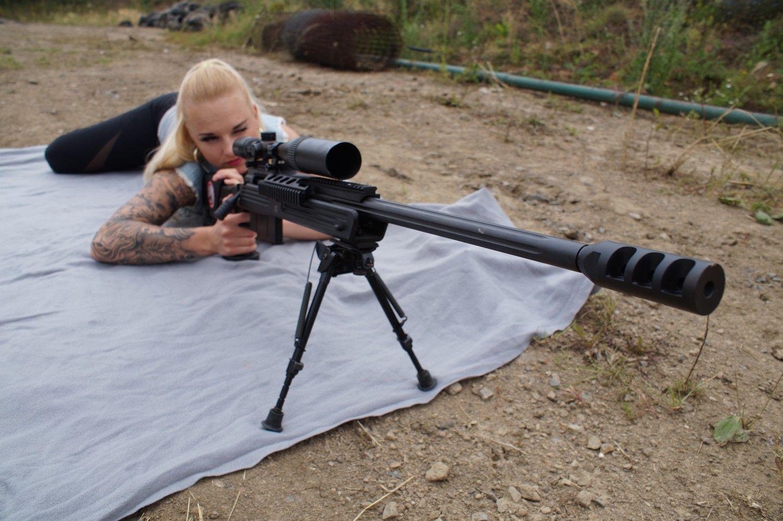 Odstřelovací puška na dlouhou vzdálenost 400m
