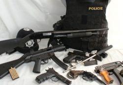 Policejní zbraně v akci