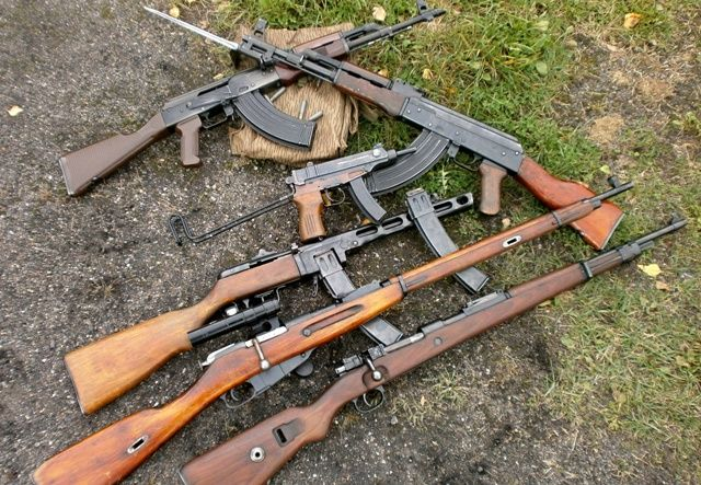 Zbraně legendy - akční střelba, zážitek