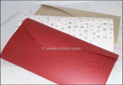Papírový dárkový přebal na certifikát
